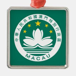 macau emblem metal ornament