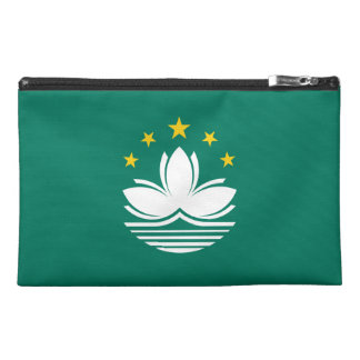Macau Flag Travel Accessory Bags