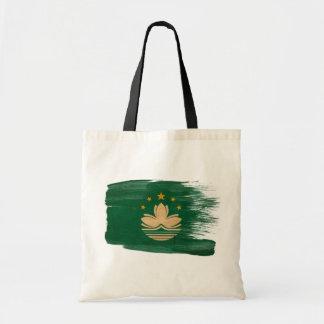 Macau Flag Canvas Bags