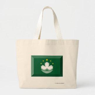 Macau Flag Jewel Tote Bag