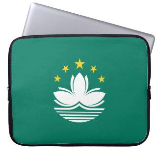 Macau Flag Laptop Sleeve