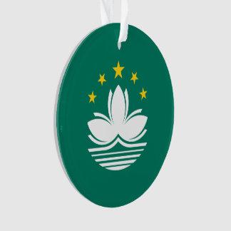Macau Flag Ornament