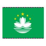 Macau Flag Post Cards