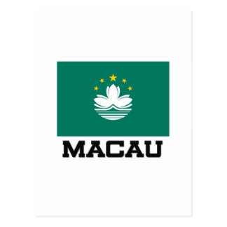 Macau Flag Postcard
