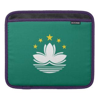 Macau Flag Sleeve For iPads