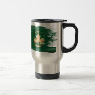 Macau Flag Travel Mug