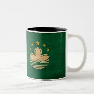 Macau Flag Two-Tone Coffee Mug