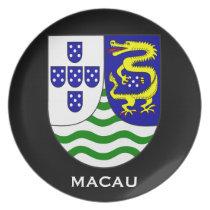 Macau Historical Souvenir Plate