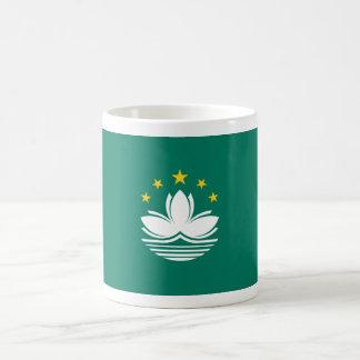 macau classic white coffee mug