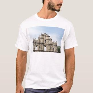 Macau S.A.R, China, Sao Paulo Facade, T-Shirt