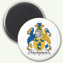 MacAusland Family Crest Magnet