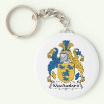 MacAusland Family Crest Keychain