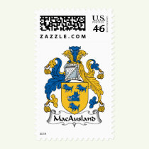 MacAusland Family Crest Stamps