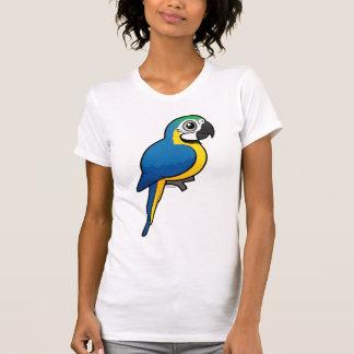 Macaw Azul-y-amarillo Playera