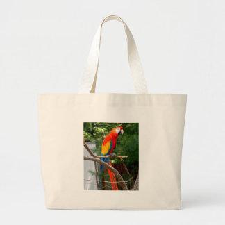 Macaw Bolsa Tela Grande