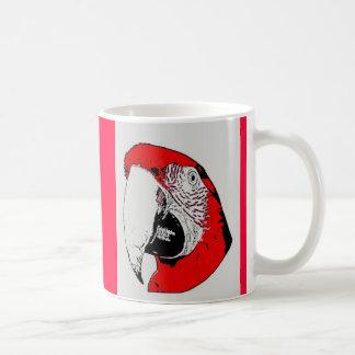 Macaw Cartoon Mug
