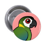 Macaw De oro-agarrado Pin