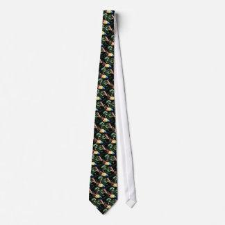 Macaw del escarlata corbata personalizada