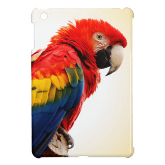 Macaw del escarlata iPad mini carcasa