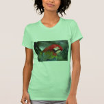Macaw del escarlata, Singapur Camisetas