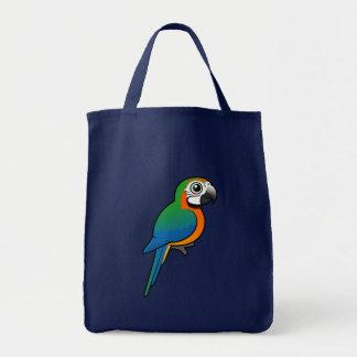 Macaw del Harlequin Bolsas De Mano