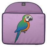 Macaw del Harlequin Fundas Para Macbook Pro