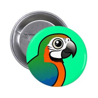 Macaw del Harlequin Pin