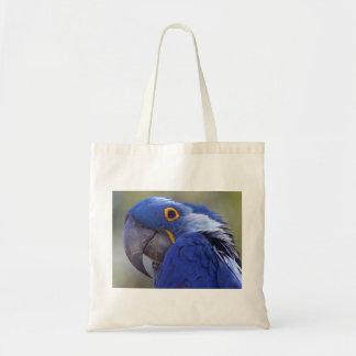 Macaw del jacinto bolsa tela barata
