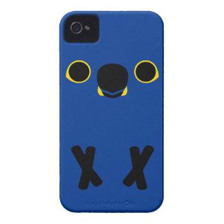 Macaw del jacinto iPhone 4 Case-Mate carcasas