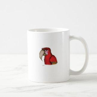macaw del scarlett, fernandes tony taza de café