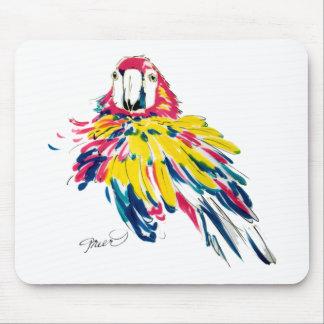 Macaw divertido tapete de ratones
