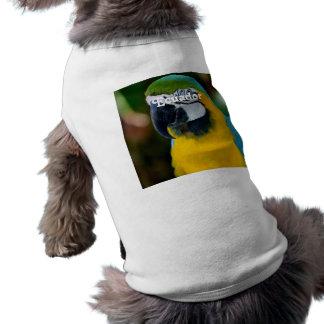 Macaw Doggie T Shirt