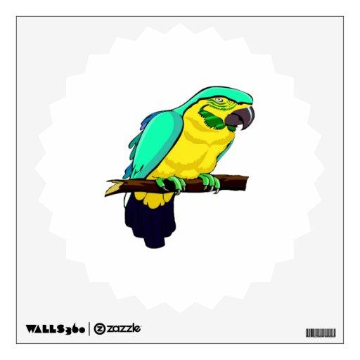 Macaw en rama