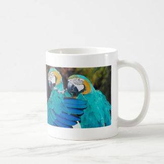 Macaw Hug Coffee Mug