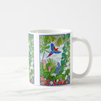 Macaw in Flight Coffee Mug