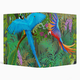 Macaw Jungle Avery Binder