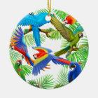 Macaw Jungle Ornament