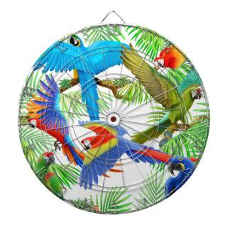 Macaw Jungle Parrots Dart Board