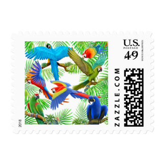Macaw Jungle Postage