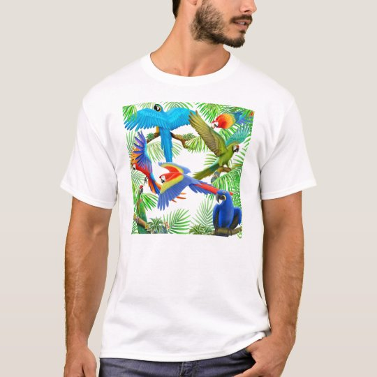 Macaw Jungle T-Shirt
