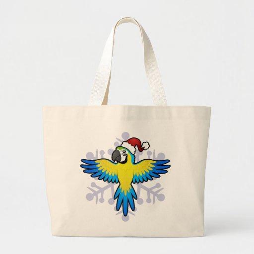 Macaw/loro del navidad bolsa