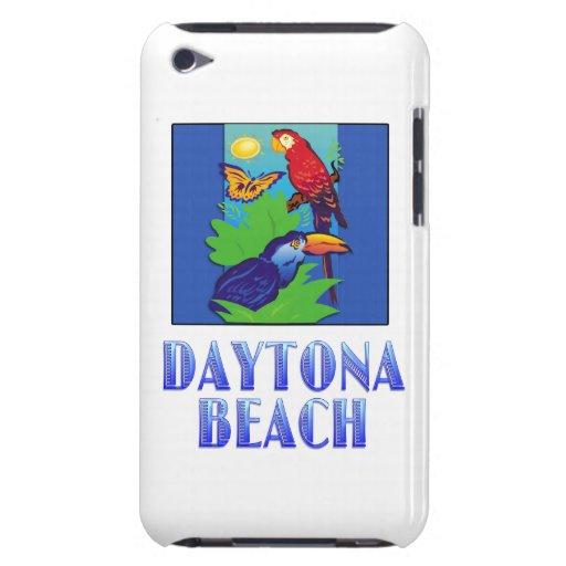 Macaw, loro, mariposa y selva DAYTONA BEACH iPod Touch Case-Mate Carcasa
