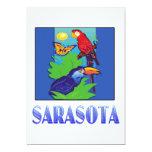 Macaw, loro, mariposa y selva SARASOTA Comunicados Personalizados