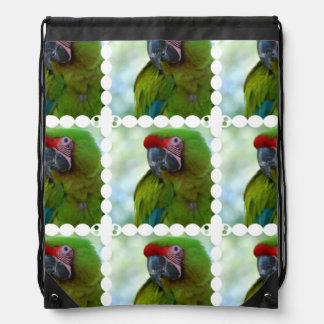 Macaw militar mochilas