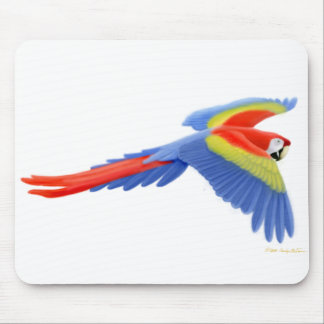 Macaw Mousepad del escarlata
