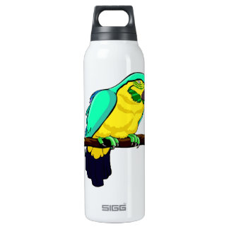 Macaw On Branch 16 Oz Insulated SIGG Thermos Water Bottle