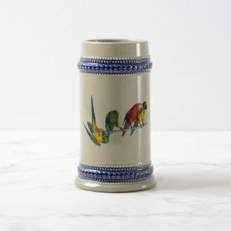 Macaw Parrot Beer Stein