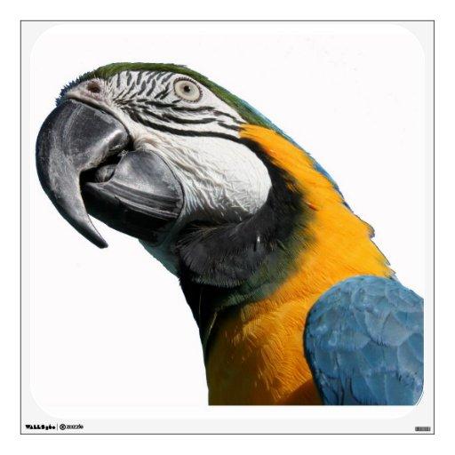 Macaw Parrot Bird Wall Decal