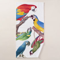 Macaw Parrot Birds Wildlife Bath Towel Set