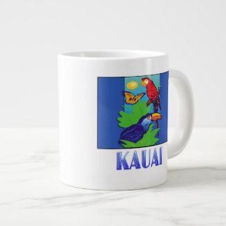 Macaw, Parrot, Butterfly & Jungle KAUAI Jumbo Mugs